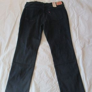 Levi's 505 Jeans 1780400031 Straight Leg Dark Blue